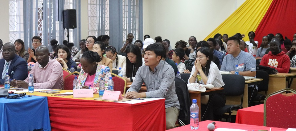 Figure3-Participants follow the proceedings during the Teacher Training Seminar at the BSSC.
